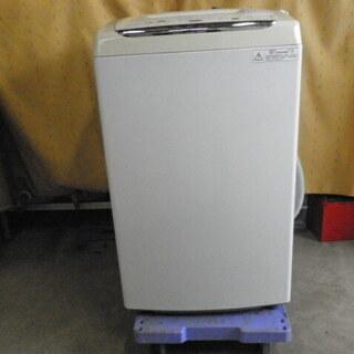 東芝 全自動洗濯機 4.2kg ピュアホワイト AW-45M5 ...