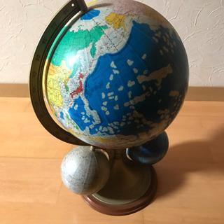 昔の大きめの地球儀