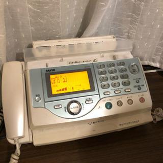 無料!ファックス付き電話機