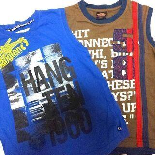 HangTen  他ノースリーブTシャツ二枚セット 140cm