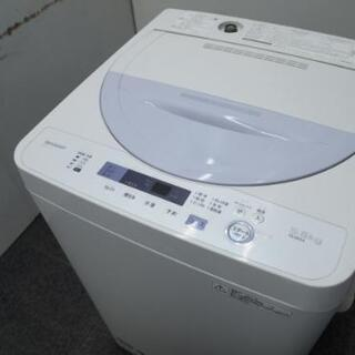 SHARP シャープ 5.0kg 全自動電気洗濯機 ES-…