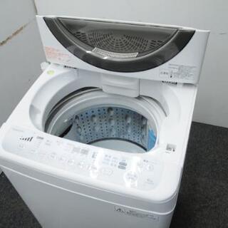 TOSHIBA 東芝 全自動電気洗濯機 型番AW-60DM(W) 6.0kg 2013年製 - 家電