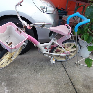 子供用の自転車です。