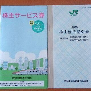 【株主優待券】JR東日本 1枚 有効期間:2020年5月31日