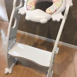 トイレトレーニング♡ステップ付きシート