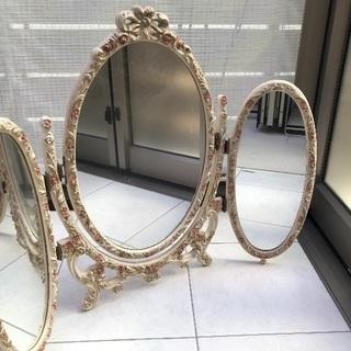 フレンチ風三面鏡
