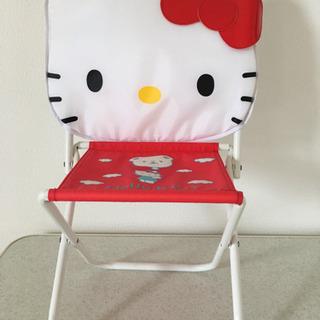 ハローキティ 折りたたみ椅子