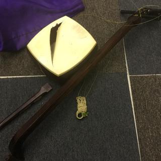 三味線 中棹 丸打胴 練習用 和楽器