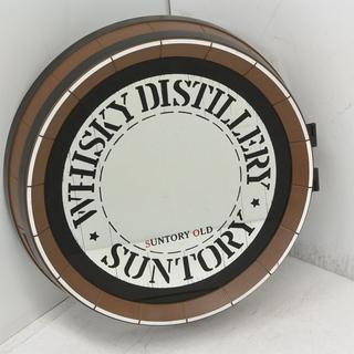 非売品 サントリー ウイスキー 樽型 パブミラー 収納 海賊 店舗...