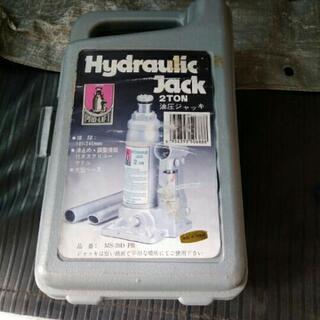 油圧ジャッキ 2t 整備