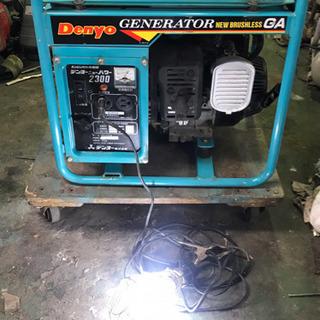 Denyo   エンジン発電機◆アウトドア・野外作業