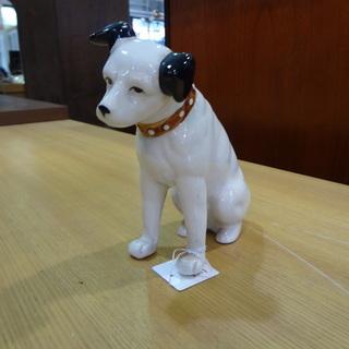 【モノ市場 東海店】ビクター犬 ニッパー 陶器 置物 の画像