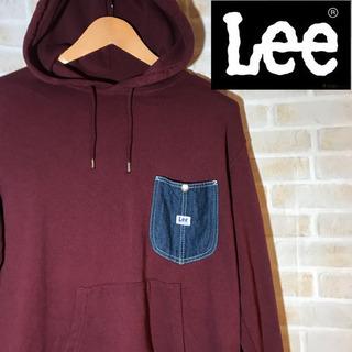 【激レア】Lee リー パーカー ポケット ワンポイント