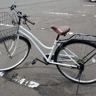 札幌市 6段切り替え ママチャリ 自転車 27インチ 中古