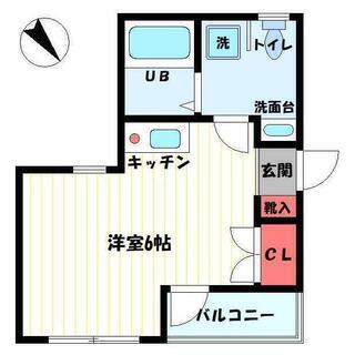 ◎仲介手数料無料◎ ☆★☆桜木町駅徒歩11分・1R+ロフト・賃料6...