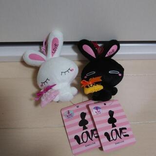 LOVE ウサギ ぬいぐるみ おもちゃ