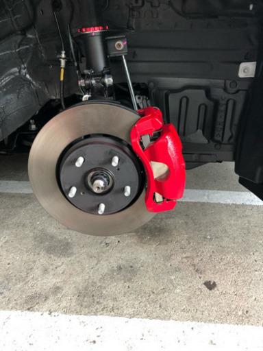 キャリパー 塗装 ブレーキ