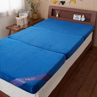 【保証書付き】セミダブルエムリリーマットレス すのこベッド付き