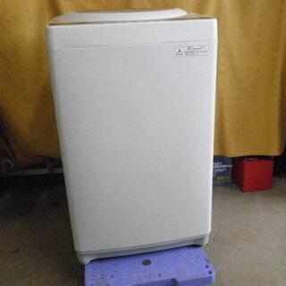 東芝 全自動洗濯機 5㎏ ピュアホワイト AW-5G3 2016...