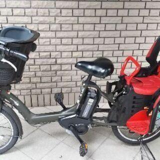 三人乗りアシスト自転車ヤマハPASS kiss mini⚫️受渡日限定