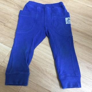 エフオーキッズ パンツ 95 ブルー