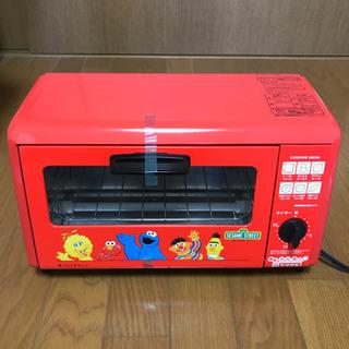 【新品未使用】オーブントースター セサミストリート