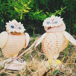 ちょっとしたインテリアにかわいい貝細工を飾って癒しの空間に。富津...