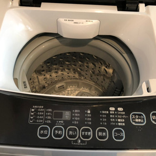 洗濯機 使用1年未満、状態良好