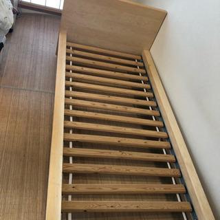 【美品】 IKEA ベッドフレーム シングルサイズ