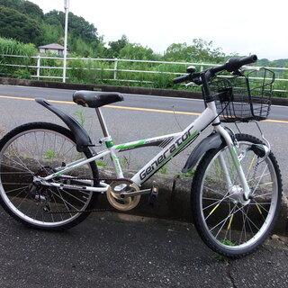 ☆LEDライト シマノ5段ギア付き。子供用の自転車です。24インチ...