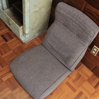 角度調整可なクッション座椅子