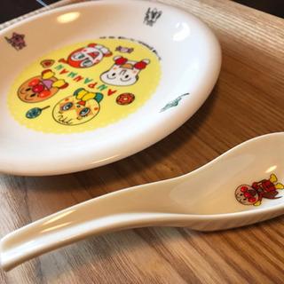 【美品】アンパンマン 食器 セット まとめ売り スプーン 小皿 ...