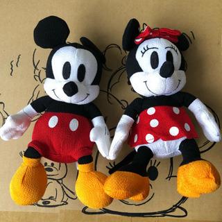 ミッキー&ミニーの和風なぬいぐるみの画像