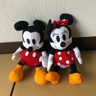 ミッキー&ミニーの人形