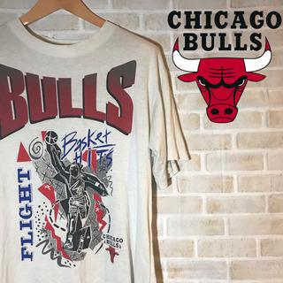 【90s】古着 CHICAGO BULLS シカゴブルズ Tシャツ...