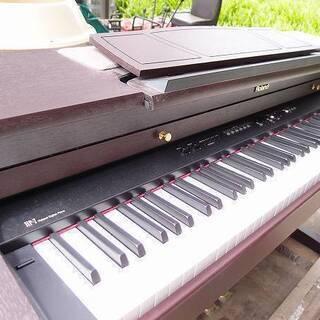 福島県発 中島村発 Roland 電子ピアノ? HP-7D-MH ...