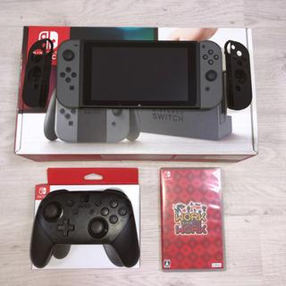 ◆売却済[新品同様] Nintendo Switch 本体 Pr...