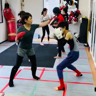 八幡西区パーソナルキックボクシング