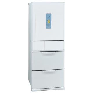 三菱 冷蔵庫 冷蔵冷凍庫 455ℓ 右開き5ドア グレイッシュホワイト