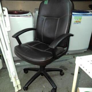 事務椅子 中古 レザー