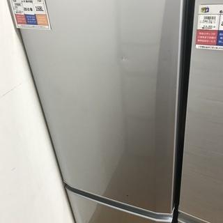 MITSUBISHI 2ドア冷蔵庫 MR-P17S-S 168L...