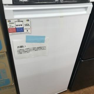 【未使用品】Haier 1ドア冷凍庫 JF-NU102A 102...