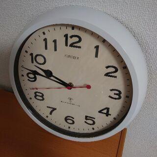 電波時計の掛け時計 中古動作品です