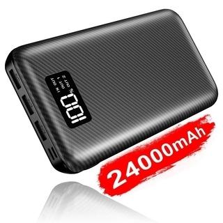 【全国対応・新品未使用】モバイルバッテリー 大容量 24000m...