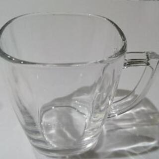 ガラスコップ3つセット