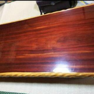 座卓 テーブル ちゃぶ台 ローテーブル 紫壇  一枚板 アンティーク