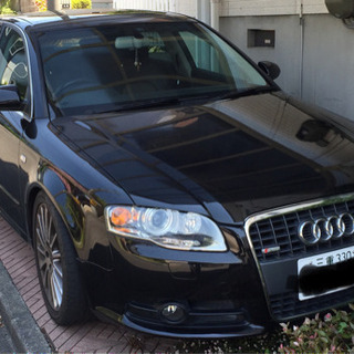 値下げ)A4クワトロ(4WD)2Lターボ黒