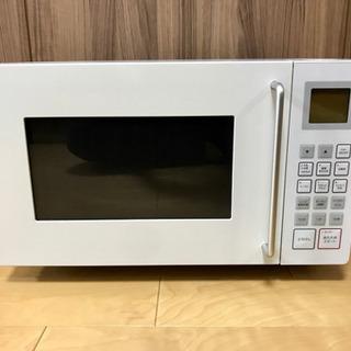 東芝 無印良品 電子レンジ オーブンレンジ 取扱説明書付き