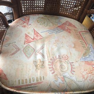 超 美品 籐の座椅子?