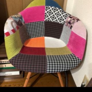 美品 人気のイームズ パッチワーク椅子
